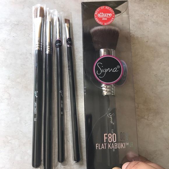 7d86125cd Sephora Makeup | Sigma Beauty 5 Brush Bundle Nwt | Poshmark